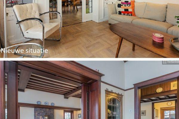 oud en nieuw woonkamer