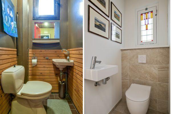 oud en nieuw wc